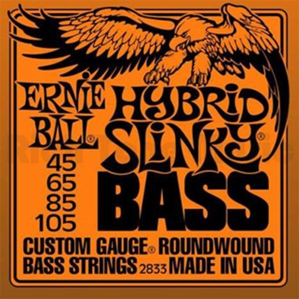 Ernie Ball 2833 - struny do basu