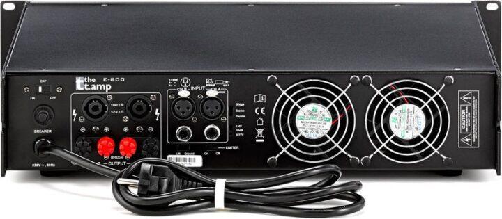 T.amp E800