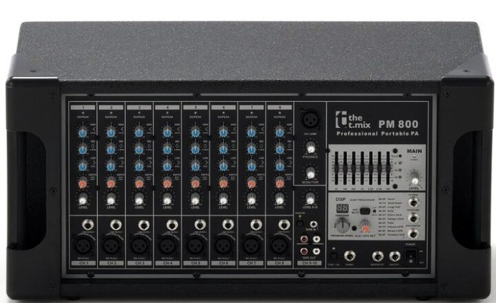 T.mix PM800 Powered Mixer